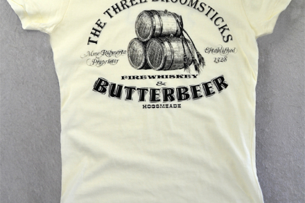 Women's Ivory Butterbeer Harry Potter Tshirt