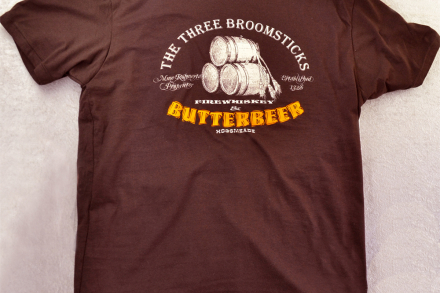 Harry Potter Shirt, Butterbeer at The Three Broomsticks, Unisex Fitted Tee
