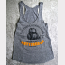 Harry Potter Tank Top, Butterbeer at The Three Broomsticks Women's Heather Grey