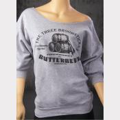 Harry Potter Sweatshirt, Butterbeer Women's Flashdance Sweatshirt