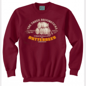 Harry Potter Butterbeer Maroon Crewneck Sweatshirt