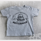Harry Potter Kid's Shirt-Butterbeer At The Three Broomsticks! Sizes T2-Youth XL