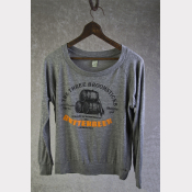 Harry Potter Shirt, Slouchy Pullover, BUTTERBEER, Off The Shoulder Top
