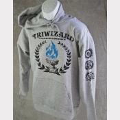 Harry Potter Sweatshirt, Triwizard Tournament Unisex Heather Grey Hoodie