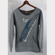 Harry Potter Sweatshirt, BUCKBEAK, Now Witherwings, Forever Free. Women's Maniac