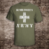 Dumbledore's Army Shirt Harry Potter Unisex Olive Tee with Off-White Ink