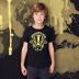 Hufflepuff Harry Potter Kid's Shirt Sizes Youth XS-XL Ringspun Cotton