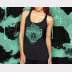 Slytherin Racerback Harry Potter Tank Top  - XSmall thru 2XLarge Sizes