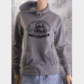 Butterbeer Fitted Hoodie Harry Potter Unisex Sweatshirt. The Three Broomsticks!
