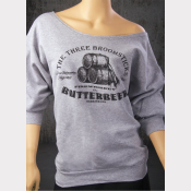 Harry Potter Sweatshirt, Butterbeer Women's Flashdance Sweatshirt