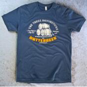 Butterbeer Unisex Harry Potter Tshirt. The Three Broomsticks at Hogsmeade Indigo