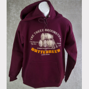 Butterbeer Hoody Harry Potter Sweatshirt. The Three Broomsticks at Hogsmeade