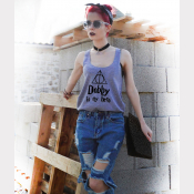 Dobby Is My Hero Racerback Harry Potter Tank Top - Sizes XSmall thru 2XLarge