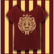 Harry Potter Gryffindor Shirt, Hogwarts Shirt, Women's Off The Shoulder Slouchy