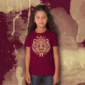Gryffindor Harry Potter Kid's Shirt Sizes Youth XS-XL in Ringspun Cotton