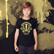Hufflepuff Harry Potter Kid's Shirt Sizes Youth XS-XL Ringspun Cotton
