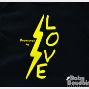 Harry Potter Baby Onesie or Lapshirt - Protected By Love