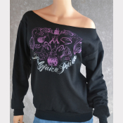 Polyjuice Potion Slouchy Sweatshirt. Off-The-Shoulder Only Style