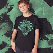 Slytherin Harry Potter Kid's Shirt, Sizes Youth XS-XL Ringspun Cotton