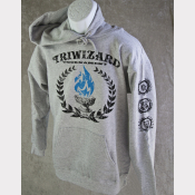 Harry Potter Hoody Triwizard Tournament Unisex Heather Grey.