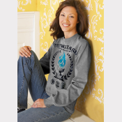 Triwizard Tournament Sweater Harry Potter Sweatshirt Heather Grey Unisex Crewnec