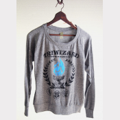 Triwizard Tournament Slouchy Pullover Long Sleeve Harry Potter Shirt